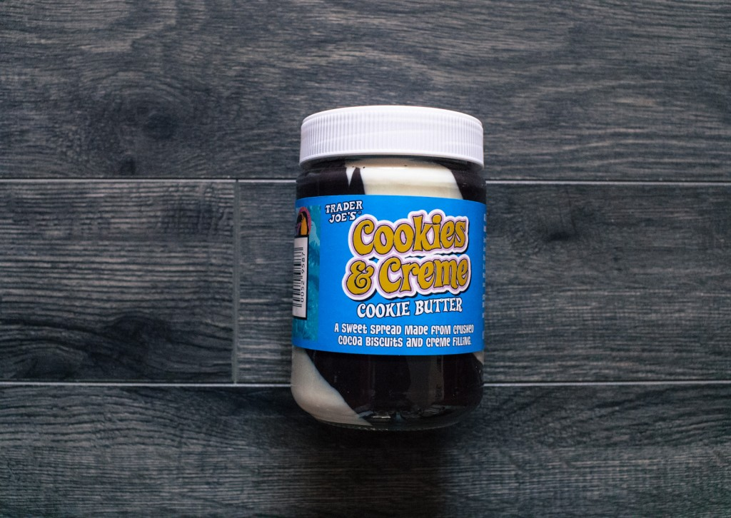 Trader Joe's Cookies & Creme Cookie Butter